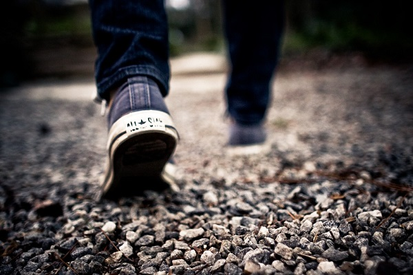Walking - a Self Soothing Technique