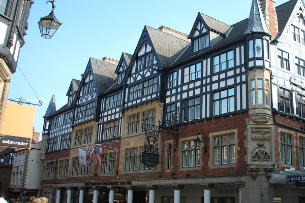 The Chester Grosvenor Hotel, Eastgate Street, Chester