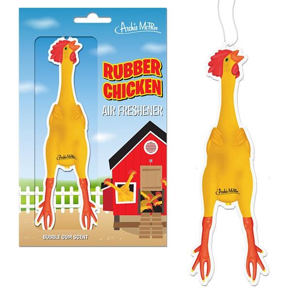 Rubber Chicken Car Air Freshener