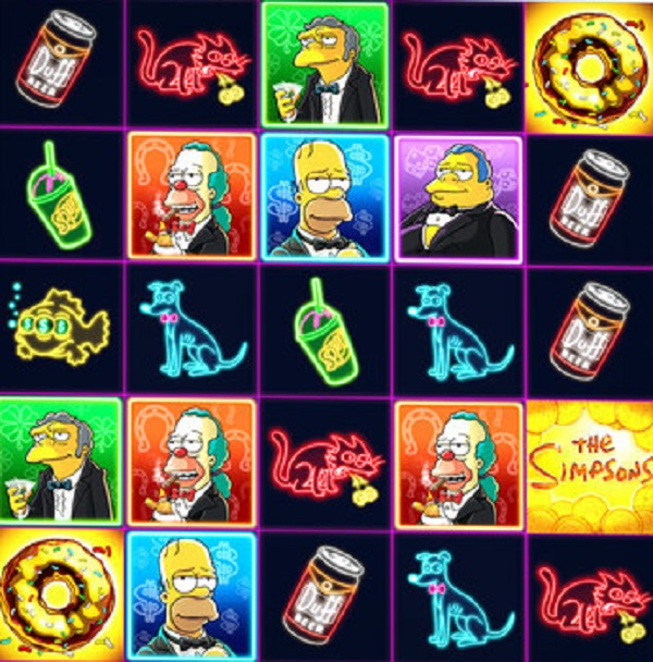 The Simpsons Online Slot Game