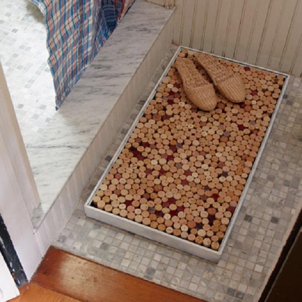 Bottle Corks Bathmat