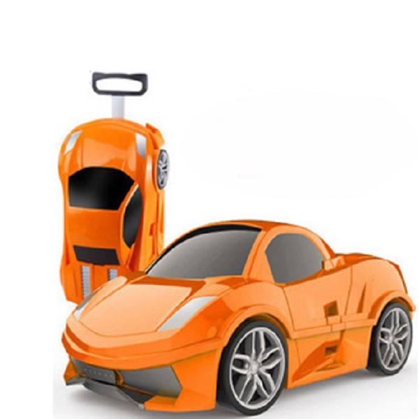 Sports Car Ride-On Suitcase for Children