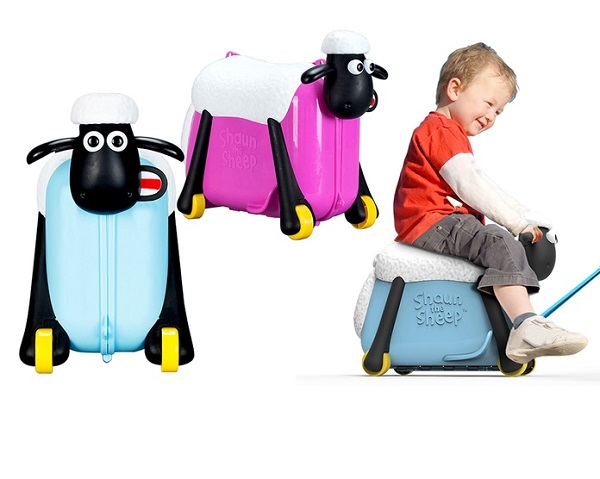 Shaun the Sheep Ride-On Suitcase for Children