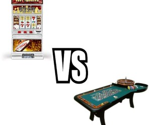 Ten Reasons to Play Casino Table Games Rather Than Slots