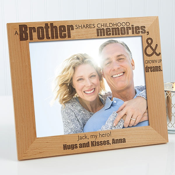 Personalized Picture Frame for Him: