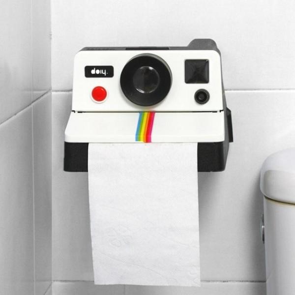 Polaroll Retro Camera Toilet Paper Holder