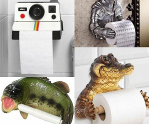 Ten of the Most Amazing Toilet Paper Holders Money Can Buy