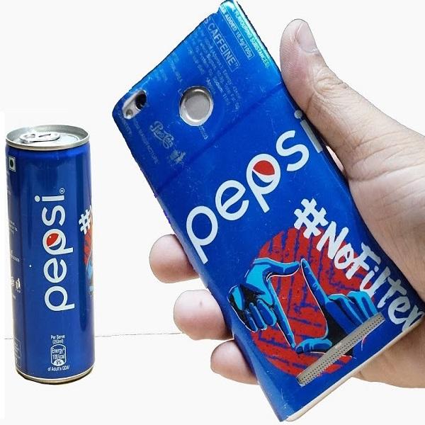 Pepsi Can DIY Phone Case
