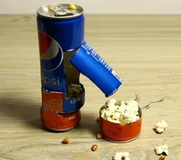 Pepsi Can Popcorn Maker
