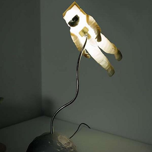 Space Walker Bedside Posable Lamp