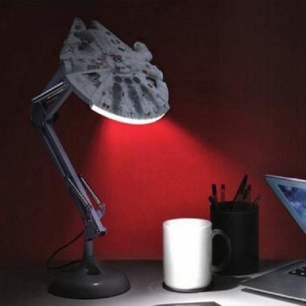 Star Wars Millennium Falcon Bedside Posable Lamp