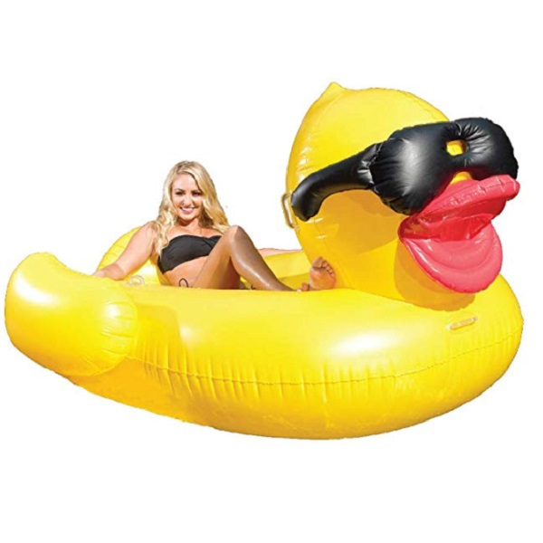 Inflatable Ride-on Rubber Duck