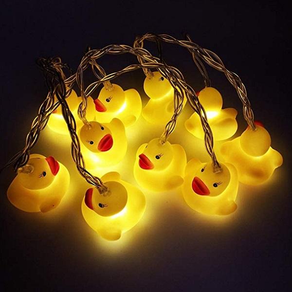 Rubber Duck String Lights