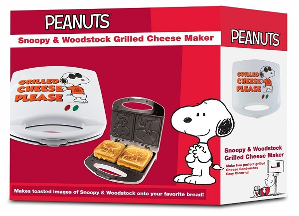 Snoopy and Woodstock Grilled Cheese Sandwich Maker