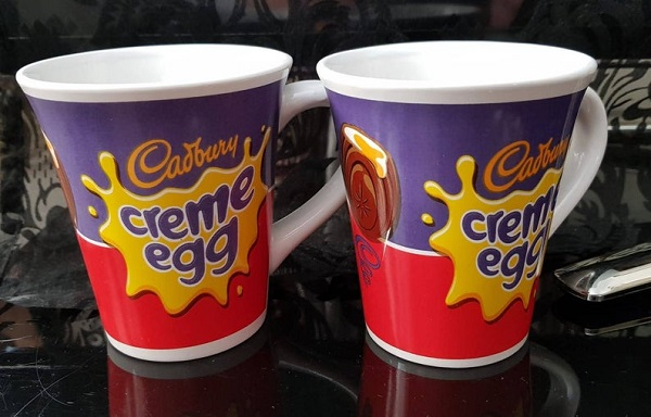 Cadbury's Creme Egg Coffee Mugs