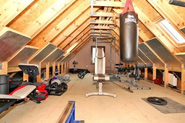 Turn Your Loft Conversion Into a Home Gym