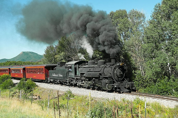 Toltec Scenic Railroad in Colorado