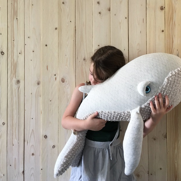 """Whale Gift Ideas - Albino Whale Plushie - <a href=""""https://www.amazon.com/s?k=whale&ref=nb_sb_noss_2"""" rel=""""noopener"""" target=""""_blank"""">BUY NOW ON AMAZON</a>"""