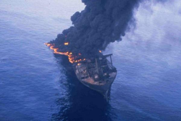 Odyssey oil spill