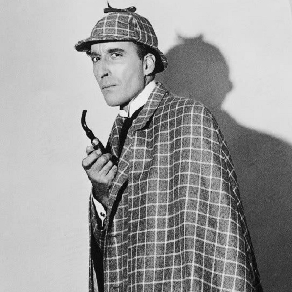Christopher Lee as Sherlock Holmes