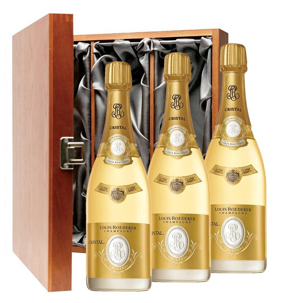 The World's Most Ridiculously Gifts Sold Online - Cristal Louis Roederer Champagne Jeroboam 2012