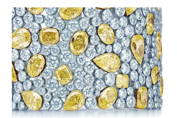 The World's Most Ridiculously Gifts Sold Online - Cobblestone Yellow Diamond Bracelet