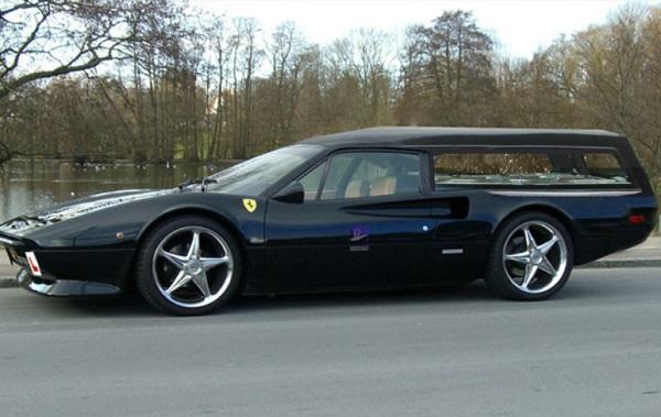 Ferrari Hearse