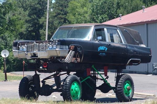 Monster Truck Hearse
