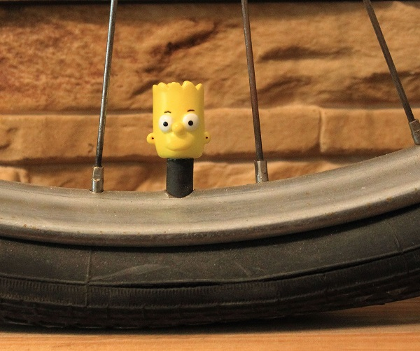The Simpsons Tyre Valve Cap