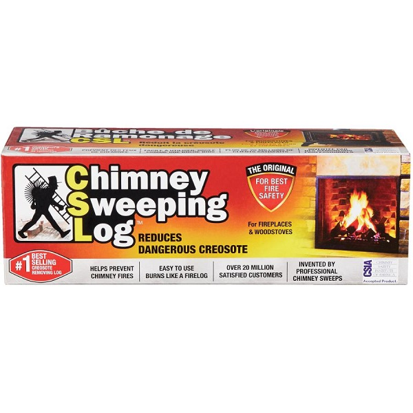 Chimney Sweeping Fire Log