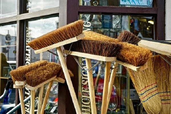Broom or Mop Handle