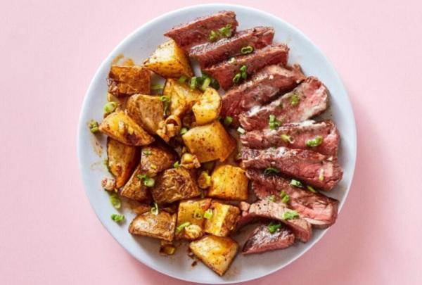 Seared Steaks & Ranch Butter