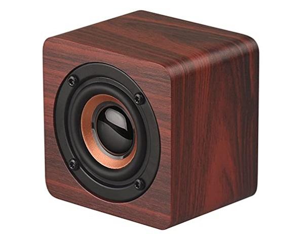 5. Mini Wood Speaker