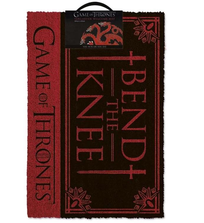 Personalized Bend The Knee Doormat