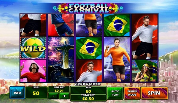 #1: Football Carnival Slot