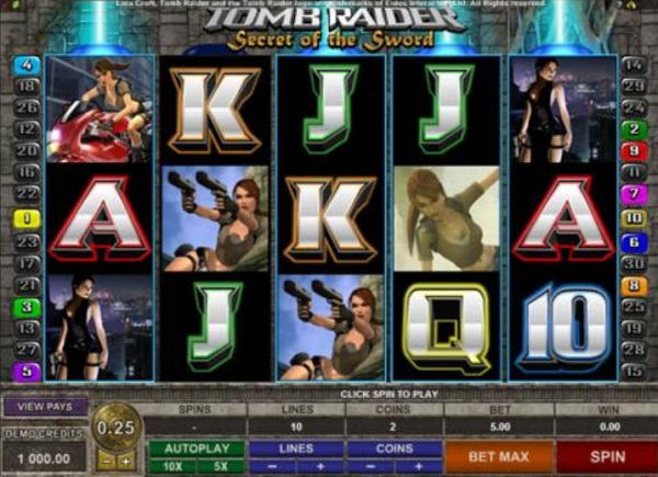 The Tomb Raider - Video Game Themed Slots