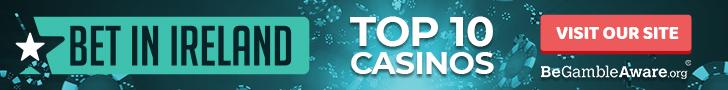 Top 10 Online Casinos in Ireland