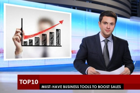Top 10 Must-Have Business Tools to Boost Sales