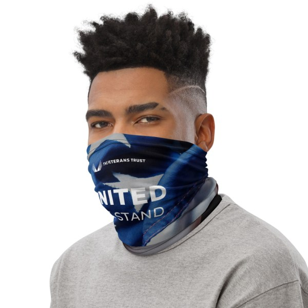 United We Stand Balaclava can be used as a face mask, headband, bandana, wristband, and neck warmer. Upgrade your accessory game and support our nations heroes