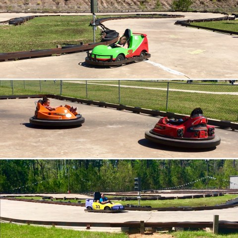 Youth, Bumper, & Adult Karts