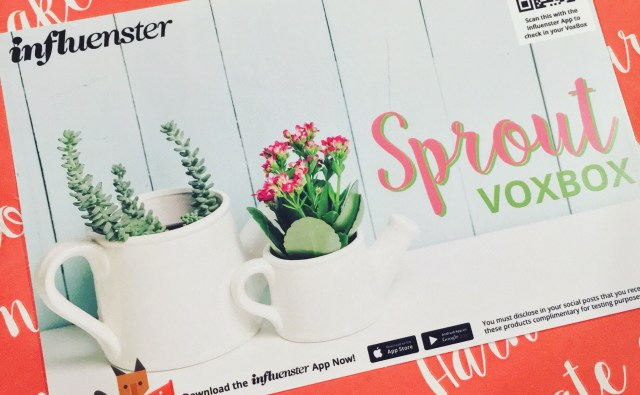 Influenster Sprout VoxBox