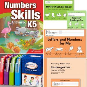 Homeschool Curriculum Choices PreK4