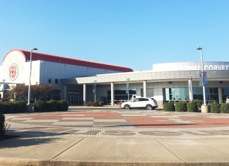 National Corvette Museum Front
