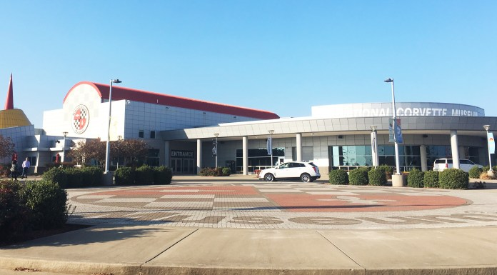 National Corvette Museum Front