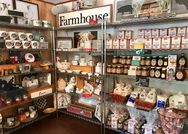 Farmhouse Supplies and Jams