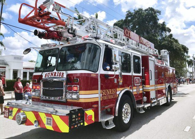 Sunrise, FL Fire Truck