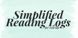 Simplified Reading Logs