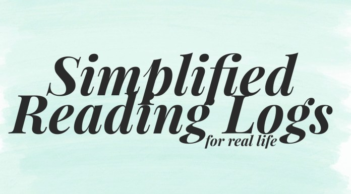 Simplified Reading Logs
