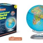 Illuminated World Globe