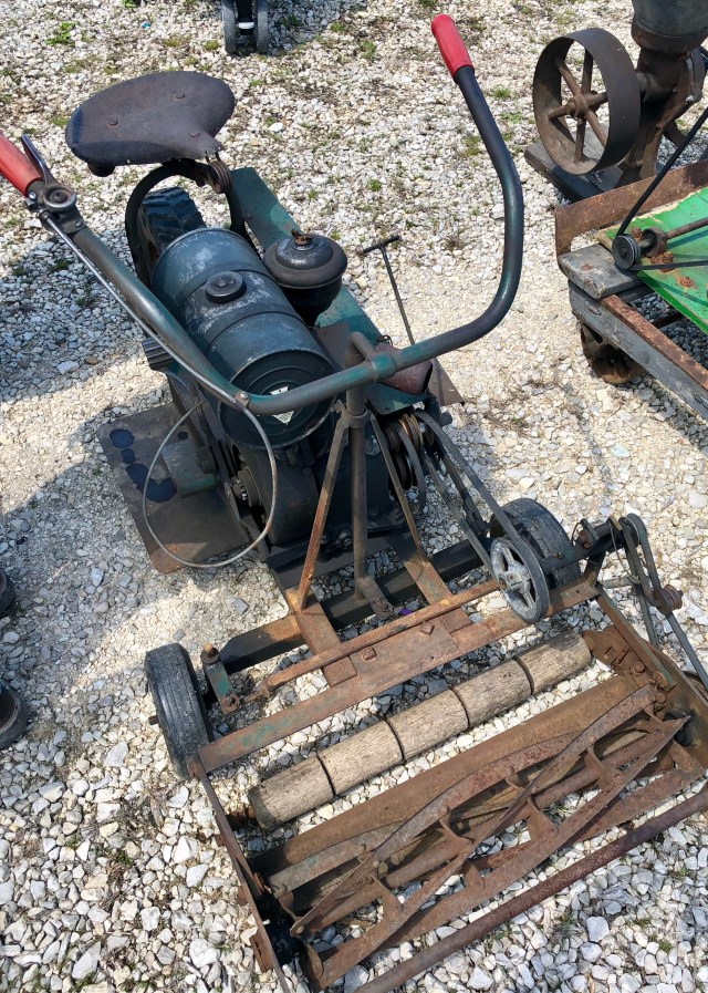 Antique Mower